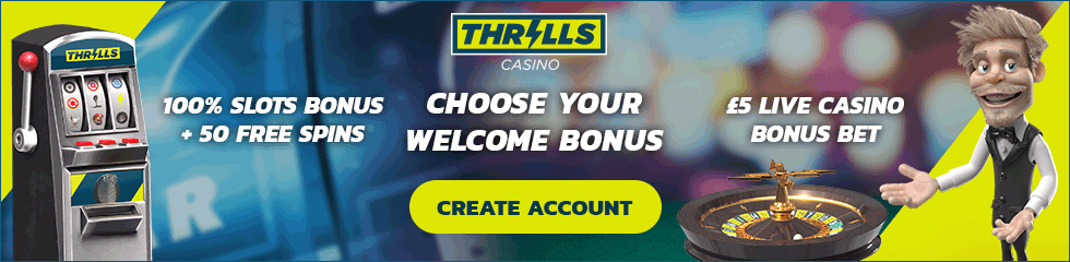 thrills casino bonus and casino review