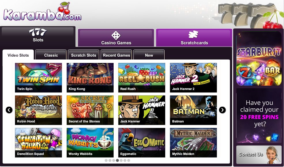 karamba online casino casino and gaming