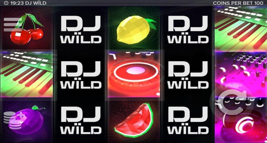 DJ WILD Slot Machine