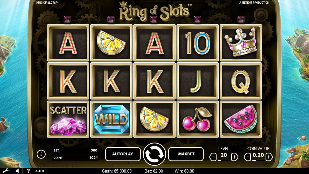 king of slots review and free spins netent