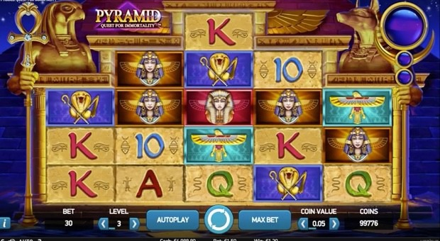 pyramid quest for immortality slot review netent casinos