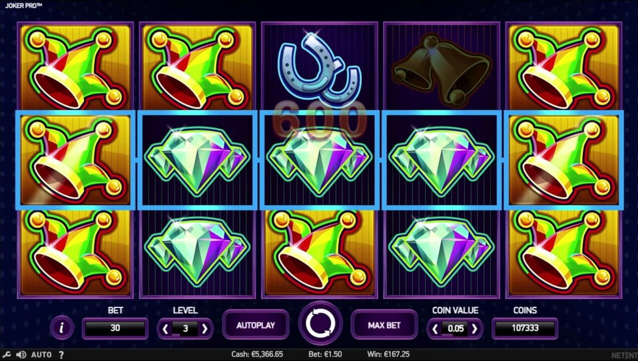 joker pro online slot machine