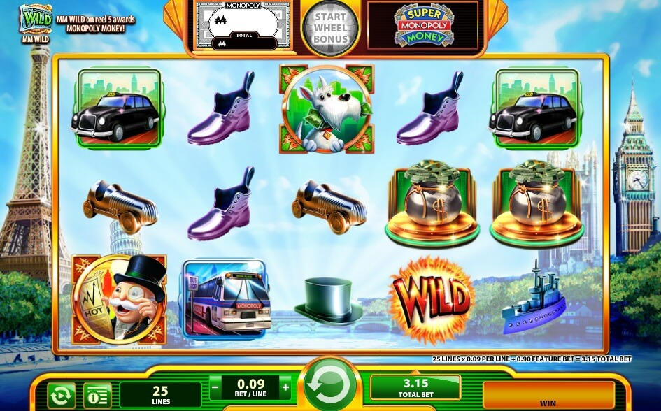 super monopoly money slot reivew wms slots